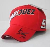 moto.gp Marc Marquez 93 ants outdoor Red black baseball cap motorbike F1 racing cap snapback cap Motocross Motorcycle