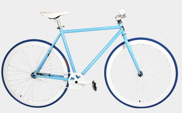 700C aluminium FIXED GEAR FIXIE VINTAGE bike fixed gear bicycle vintage fixie track bike bicycle 03(China (Mainland))