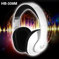 HB-338 Hi-Fi Speakers Surround Wireless Bluetooth Stereo Bass Headphone Earphone Folding Gaming PC Headset with Micphone