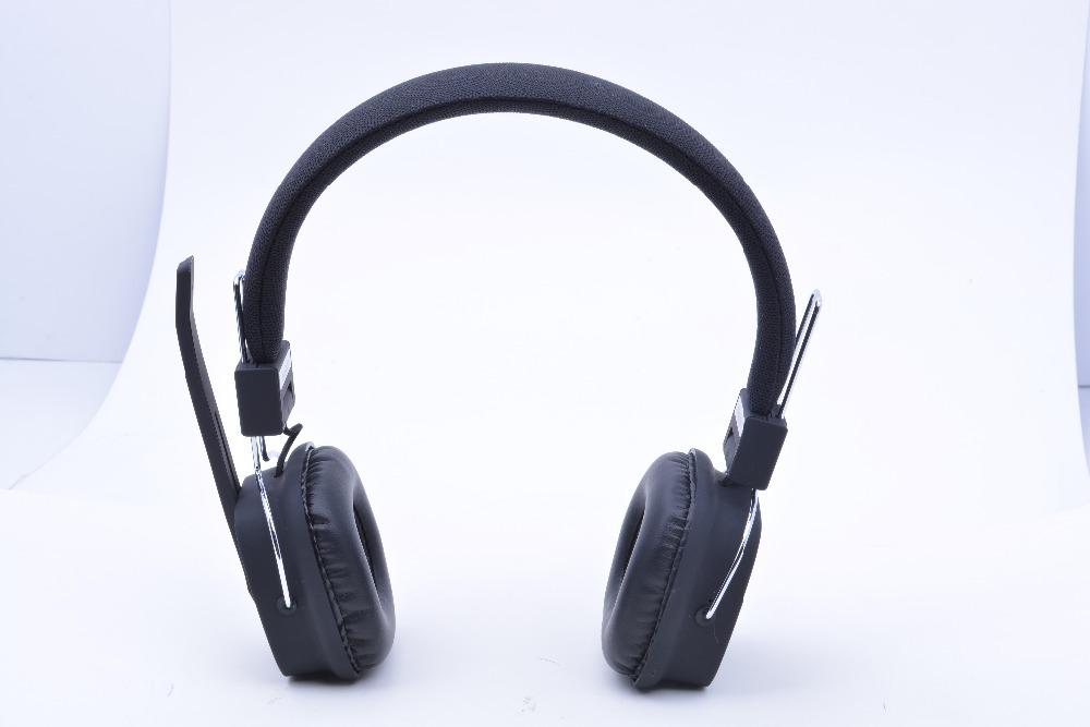 Headwearing Stereo Bluetooth Headset Black Earphones Headphones Consumer Electronics