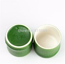 4pcs lot Imitation Green Bamboo Porcelain Tea Cup 60ml Creative Kung Fu Tea Set Drinkware Novelty