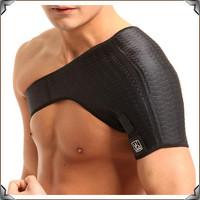 Back Support One Shoulder Guard Shoulders Support Brace Posture Gym Sport Guard Back Pad Belts Back Support One Pcs 0668