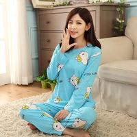 Ms. Autumn And Winter Long-sleeved Pajamas Cute HelloKitty Milk Szymborska Through Direct Factory Price Suits Tracksuit