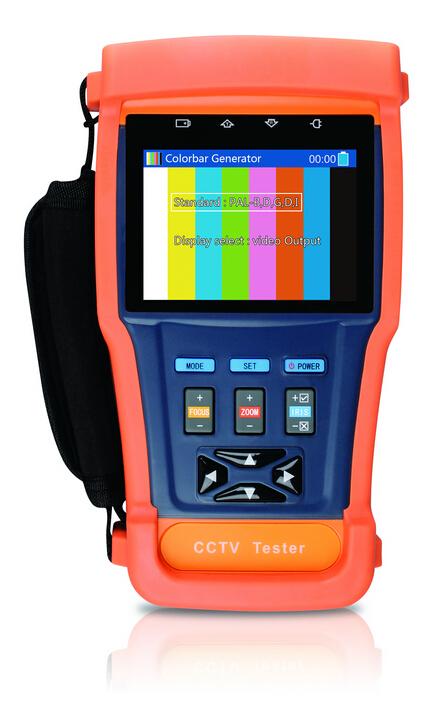 3.5-inch LCD screendigital video zoom signal strength CCTV tester PTZ control PTZ address automatically Security Camera Tester(China (Mainland))