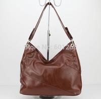 2015 Hot selling dark brown handbags Ladies PU leather Handbags bolsos laukut,wholesale handbags Free shipping H057