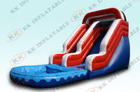 HOT SALE PVC material water games inflatable water slides for sale