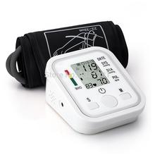 Arm Blood Pressure Pulse Monitor Health Monitors Digital Upper Portable Blood Pressure Monitor meter 2014  Free Shipping(China (Mainland))