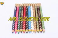 M.N menow 12 PCS Fashion Color Long Lasting Waterproof Eye/Lip Liner Pencil Set 1.0 g Free Shipping