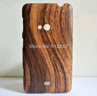 Tree Wood Wooden Grain Hard Plastic Skin Cover Case For Nokia Lumia 625
