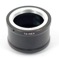 T2-NEX Adapter-Ring T2 T Lens to NEX E-mount Camera Camcorder body NEX-7 6 5R 5n F5 VG20 VG30 VG40 A5000 A6000 A7 A7R