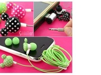 1PCS Free Shipping 2014 New Cute Mickey Cell phones Earphones Cartoon Headphones MP3 Earpods 3.5mm Headset for iPhone 5 5s 4S