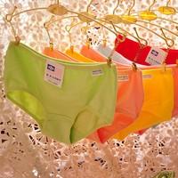 2pcs/lot mix color high quality Pure cotton underwear women,women shorts,women panties