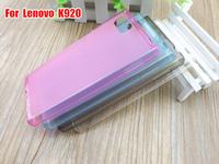 K920 Case,  Soft TPU Back Cover Case Protective Shield For Original Lenovo VIBE Z2 Pro K920 Free Shipping