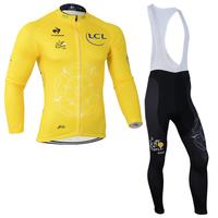 2014 New Winter Bike Team cycling suit/jersey/long pants(bib) Racing Team bike lovers bicycle sportswear