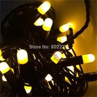 Free shipping led string light 5M 50led AC110V or AC220V colorful holiday led lighting waterproof outdoor decoration light