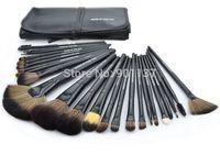 professional 24pcs makeup brush set kit makeup brushes&tools make up brushes set brand make up brush set case black colour CZ004
