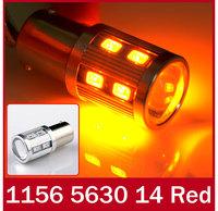 Car White Red Blue Yellow Ice Blue 14 SMD 5630 LED 1156 BA15S P21W Turn Signal Light Instrument Bulb Indicator Lamp 12V