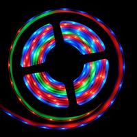 5M 60Pixel/M WS2811 IC Black PCB 5050 RGB SMD Individual Addressable Color Digital LED Strip Tube Waterproof 5V