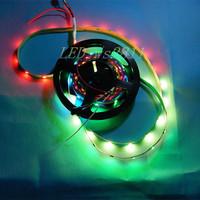 100M 20 X 5M WS2812B 30leds/M White PCB WS2811 IC Digital RGB LED Strip Light # DC5V