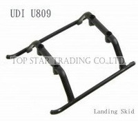 UDI U809 RC helicopter spare parts undercarriage landing skid