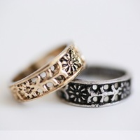 New Arrival Vintage Midi Mid Finger Knuckle Ring For Women