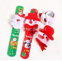 2pcs/lots sale NEW  Decor Christmas Design Wrist Band Bracelet For   Xmas  free shipping