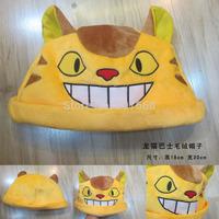 Anime Cartoon 40pcs/lot Totoro Bus Cat Plush Hat Cosplay Hat Cap Warm Winter Hat