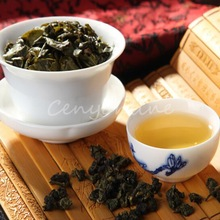 3pcs/lot 150g  Vacuum packages Taiwan Chinese High Mountain Faint Scent Silk Oolong Green Tea Work Break Free Shipping
