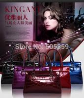 2014 new European and American fashion diagonal portable shoulder stone pattern upscale luxury handbags