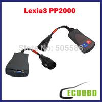 2014 Lexia3 V48 PP2000 V25 With New Diagbox V7.54  Citroen Peugeot Diagnostic Tool Free Shipping