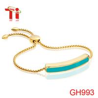 Exclusive design fanshion bracelet for woman for Monica Vinader bracelet 18k gold bracelet