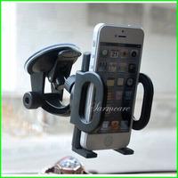 000012 - Smart Mobilephone Base Monopod Multi-Function Car Holder Mobile Phone Holder Stick on Glass Free Shipping
