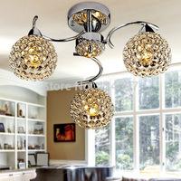 Modern minimalist LED Ceiling Ceiling pendant crystal chandelier bedroom living room chandelier FRHC / 100