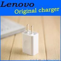 Original lenovo phone charger 2V.1A USB Charger Universal USB Wall Charger   U.S plug for Lenovo Xiaomi Samsung LG brand