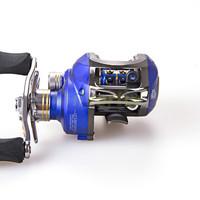 Free Shipping 10+1 BB 6.3:1 Right Hand Baitcasting Fishing Reel Bait Casting Baitcast Reels Blue