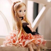 Lovely doll candlelight dinner body joints children girl doll birthday gift
