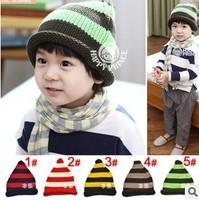 Free Shipping Baby Kids Infant Toddler Beanie Hat Warm Winter Boys Girls Cap Children Accessories #0969