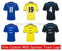 A+++ Top Thailand 14/15 Club Home Away 3rd HAZARD Diego Costa Remy Fabregas  Soccer Jersey Futbol shirt Futbol Shirt