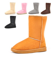 Women's Shoes 2014 Girls Shoes fashion warm women flats snow ankle boots women boots and autumn winter women shoes