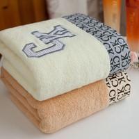 2PCS/LOT, 100% Cotton Brand Face Towels for Lovers, 2 COLORS, 74x33cm, PROMOTION, HT08