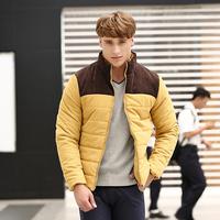 Free shipping ! 2014 male jacket outerwear Men casual winter down jacket men's clothing upper wear plus size 8777