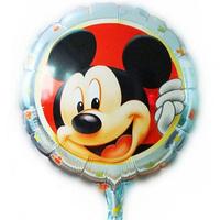 New arrive 10pcs/lots lovely Mickey balloon Birthday party Printed cartoon balloons Hot Free shipping