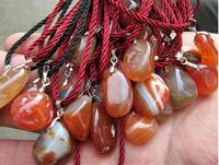 AAAA++ Natural Red Agate stone pendant DIY men women fashionfashion pendant wholesale