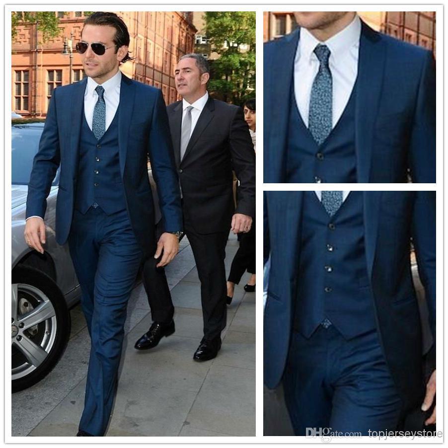 Mens Blue Suit Wedding Mens Wedding Suits Wedding