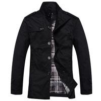 men jacket men's coat fashion clothes hot sale autumn overcoat outwear winter Free shipping wholesale retail collar brand  2060