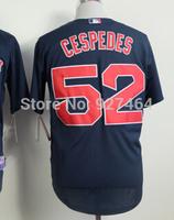 cheap stitched 2014   Boston Red Sox 52 yoenis cespedes  baseball jersey/baseball shirt