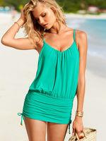 2014 new one piece loose vitoria swimwear women secret swimsuit popular beach cover up - VS 66