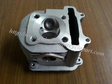 63mm big bore Cylinder Head Assembly NON-EGR for Scooter Moped ATV GO KART GY6 125 150 152QMI 157QMJ(China (Mainland))