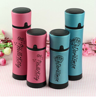 1pcs The new foreign trade hello kitty Viking stainless steel thermos mug frosted glass mug