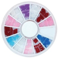 12Designs Candy Resin Beads Wheel Nail Art Decoration 34#